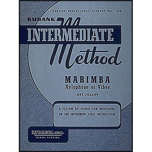 Hal Leonard Rubank Intermediate Method - Marimba/Xylo- Phone Or Vibes-thumbnail