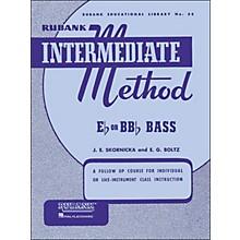 Hal Leonard Rubank Intermediate Method E Flat Or Bb Flat Bass