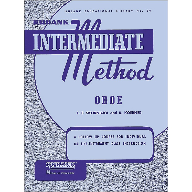 Hal LeonardRubank Intermediate Method Oboe