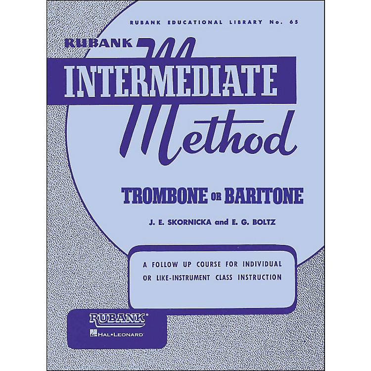 Hal LeonardRubank Intermediate Method Trombone Baritone
