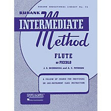 Hal Leonard Rubank Intermediate Method for Flute or Piccolo
