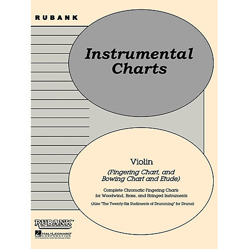Rubank Publications Rubank Position/Bowing Charts - Violin Method Series-thumbnail