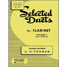 Hal Leonard Rubank Selected Duets for Clarinet Vol 1 Easy/Medium