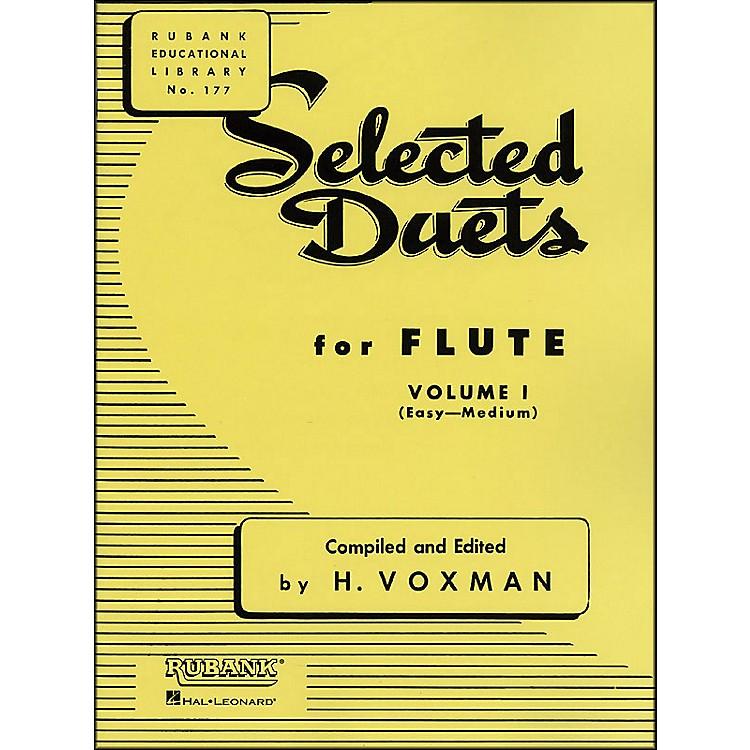 Hal LeonardRubank Selected Duets for Flute Vol 1 Easy/Medium