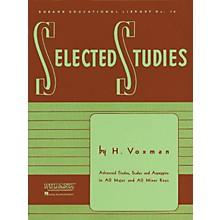 Hal Leonard Rubank Selected Studies for Baritone