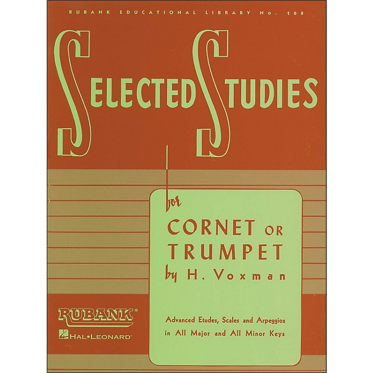 Hal Leonard Rubank Selected Studies for Cornet Or Trumpet