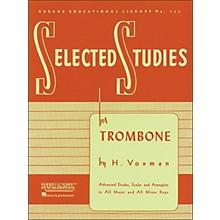 Hal Leonard Rubank Selected Studies for Trombone