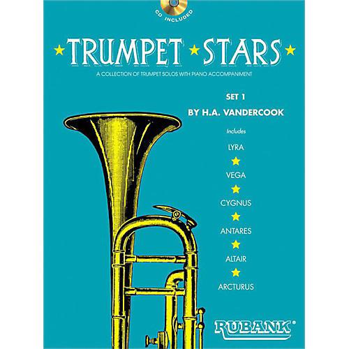 Hal Leonard Rubank Trumpet Stars Set 1 Book/CD