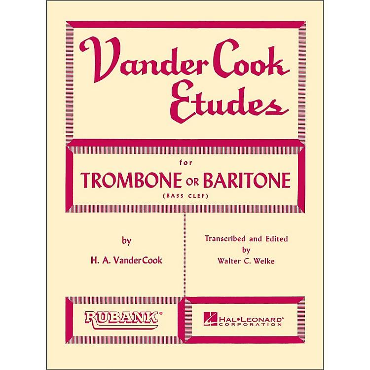 Hal LeonardRubank Vandercook Etudes for Trombone Or Baritone