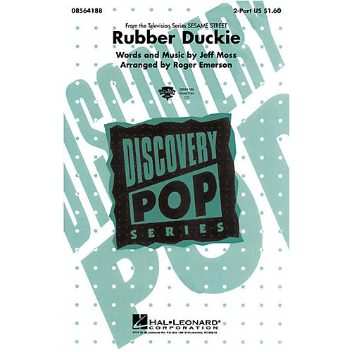 Hal Leonard Rubber Duckie 2-Part by Ernie arranged by Roger Emerson