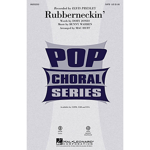Hal Leonard Rubberneckin' SATB by Elvis Presley arranged by Mac Huff-thumbnail