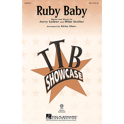 Hal Leonard Ruby Baby TBB by Dion arranged by Kirby Shaw-thumbnail