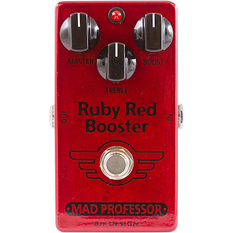 Mad Professor Ruby Red Booster Guitar Effects Pedal