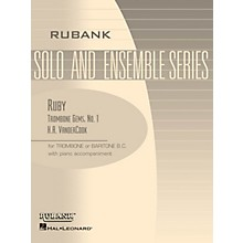 Rubank Publications Ruby (Trombone (Baritone B.C.) Solo with Piano - Grade 1) Rubank Solo/Ensemble Sheet Series