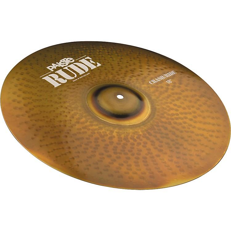 PaisteRude Crash Ride Cymbal