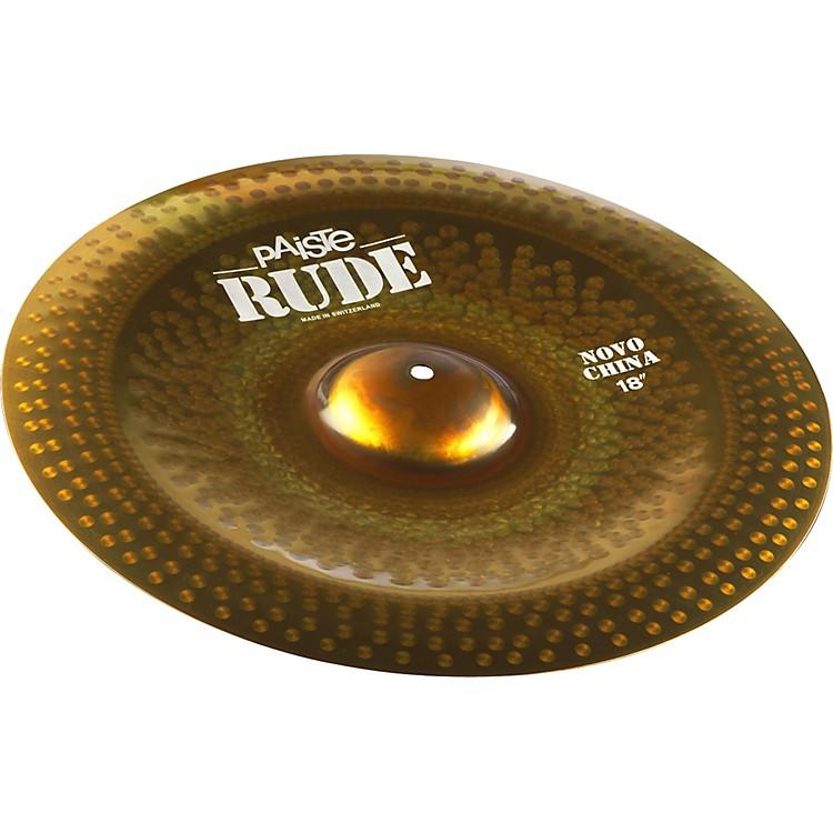 PaisteRude Novo China Cymbal18