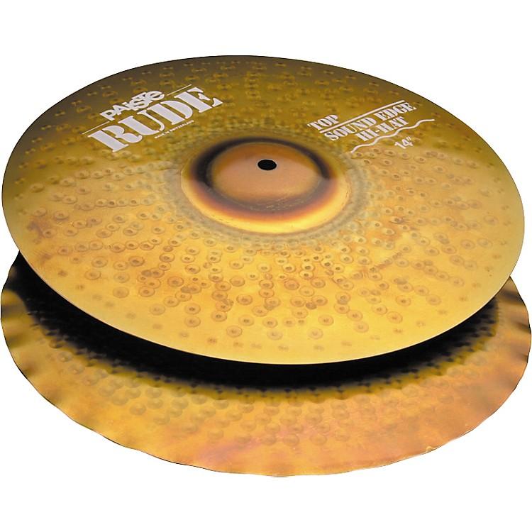 PaisteRude Sound Edge Hi-Hat Cymbals14