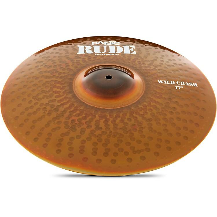 PaisteRude Wild Crash Cymbal19