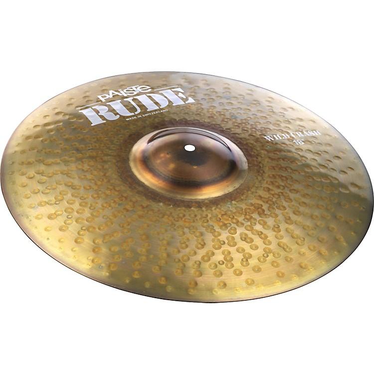 PaisteRude Wild Crash Cymbal