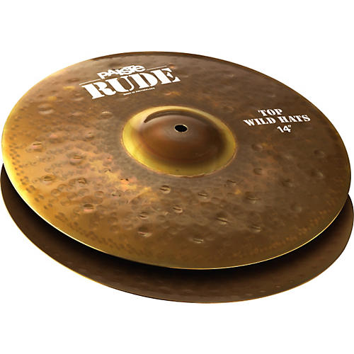 Paiste Rude Wild Hi-Hat Cymbals