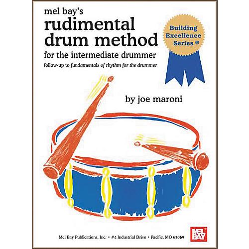 Mel Bay Rudimental Drum Method for the Intermediate Drummer Book-thumbnail