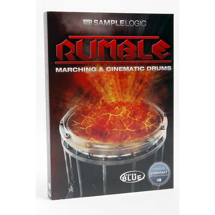 Sample LogicRumble-Marching & Cinematic Drums
