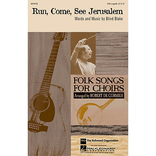 TRO ESSEX Music Group Run, Come, See Jerusalem SATB a cappella arranged by Robert DeCormier-thumbnail