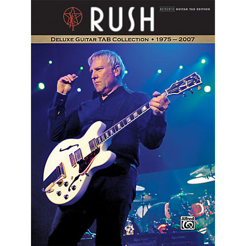 Alfred Rush - Deluxe Guitar Tab Collection 1975-2007-thumbnail