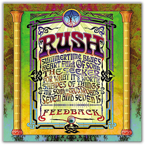 WEA Rush - Feedback (200Gm Audiophile Vinyl)