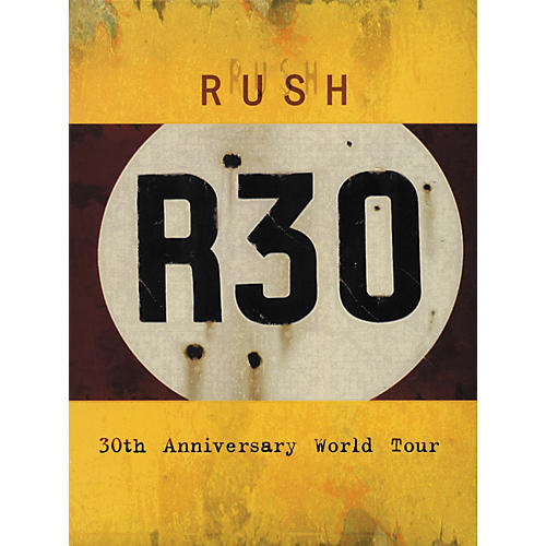 Hal Leonard Rush - R30 - 30th Anniversary World Tour DVD