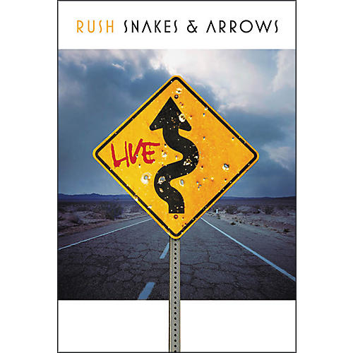 Hal Leonard Rush - Snakes & Arrows Live (3 Blu-Ray DVD Set)