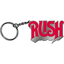 C&D Visionary Rush Logo Metal Keychain