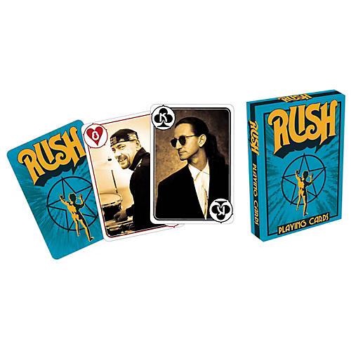 Hal Leonard Rush Playing Cards