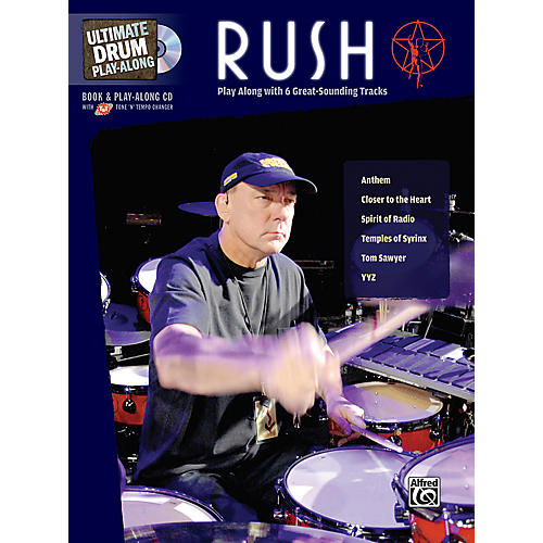 Alfred Rush Ultimate Drum Play-Along (Book/CD)