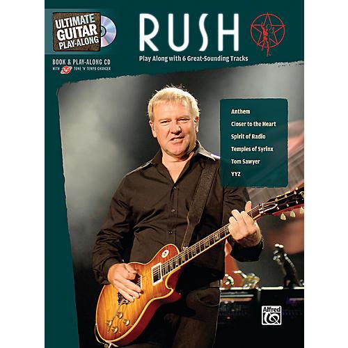 Alfred Rush Ultimate Play-Along Guitar (Book/CD)