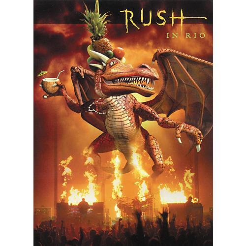 Hal Leonard Rush in Rio Live DVD