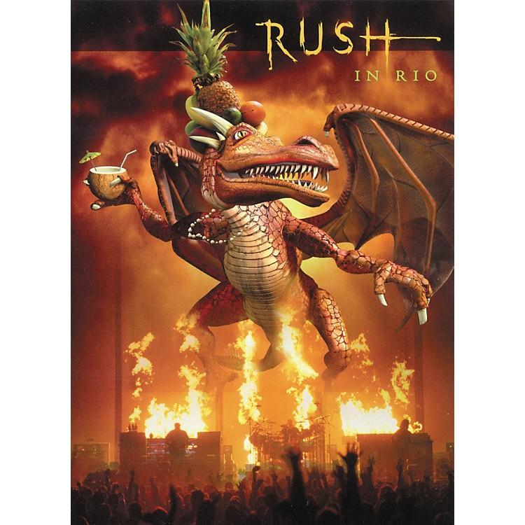 Hal LeonardRush in Rio Live DVD