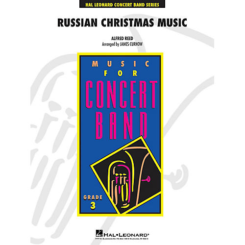 Hal Leonard Russian Christmas Music - Young Concert Band Level 3 by James Curnow-thumbnail