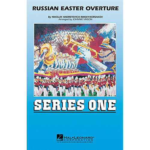 Hal Leonard Russian Easter Overture Marching Band Level 2 Arranged by Johnnie Vinson