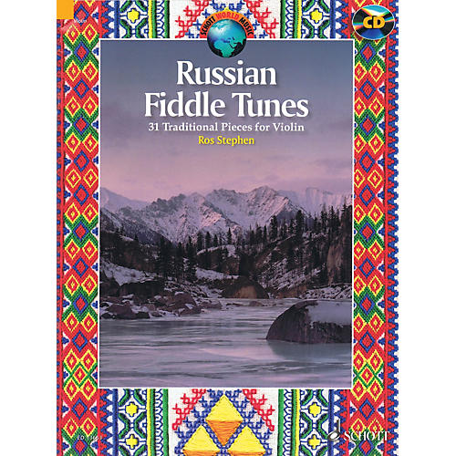 Schott Russian Fiddle Tunes (31 Traditional Pieces) String Series Softcover with CD-thumbnail