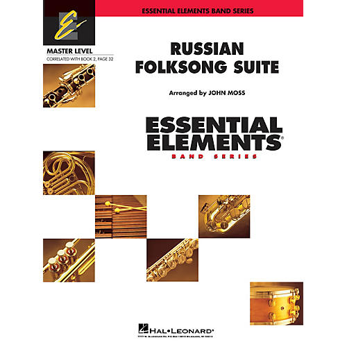 Hal Leonard Russian Folk Song Suite Concert Band Level 2 Arranged by John Moss-thumbnail