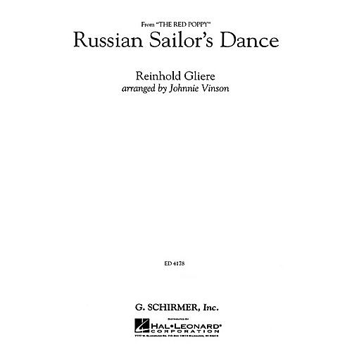 G. Schirmer Russian Sailor's Dance - Gr3 Cb - Full Score Concert Band-thumbnail