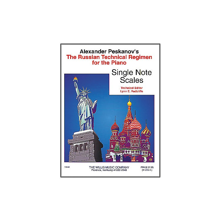 Willis MusicRussian Technical Regimen Volume 1 by Alexander Peskanov