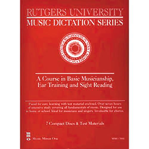 Hal Leonard RutgersUniversity Music Dictation/EarTraining-thumbnail