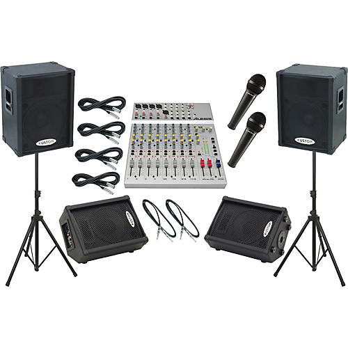 Alesis S-12 / Kustom KPC15P Mains and Monitors Package-thumbnail
