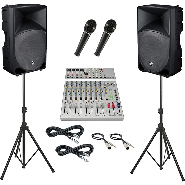 AlesisS-12 / Mackie Thump TH-15A PA Package