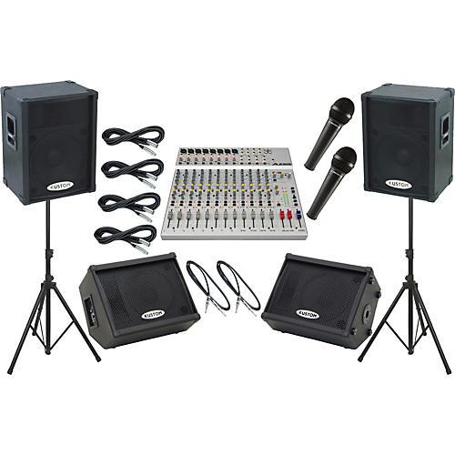 Alesis S-16 / Kustom KPC15P Mains and Monitors Live Sound Package-thumbnail