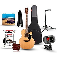 Jasmine S-34C Cutaway Acoustic Guitar Bundle