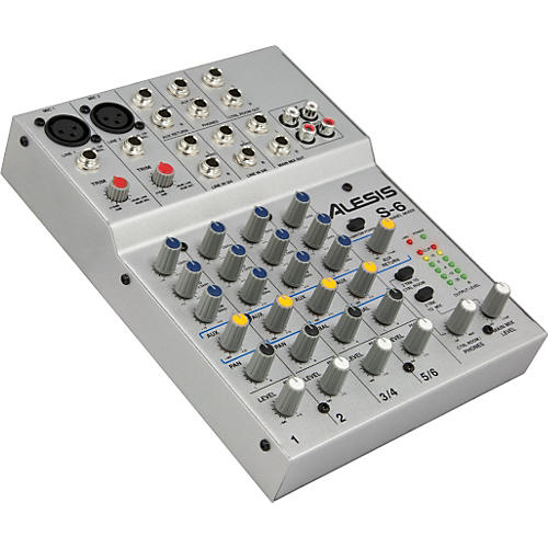 Alesis S-6 6-Channel Compact Mixer
