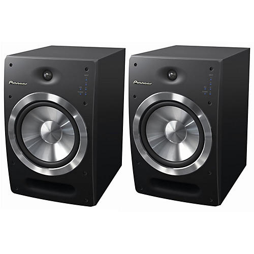 Pioneer S-DJ08 Active Reference Speakers (Pair)-thumbnail